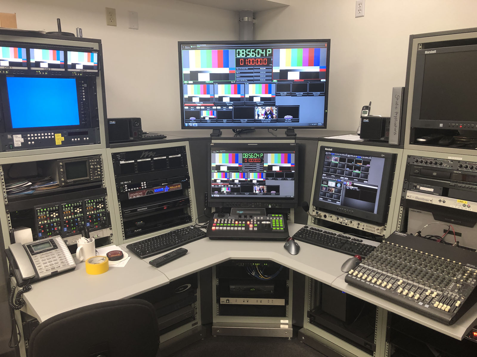 Photo of the Control Room in Northwestern Connecticut
